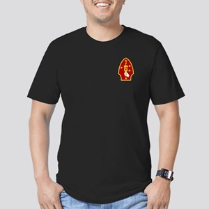 2nd Marine Division Men's Fitted T-Shirt (Dark)