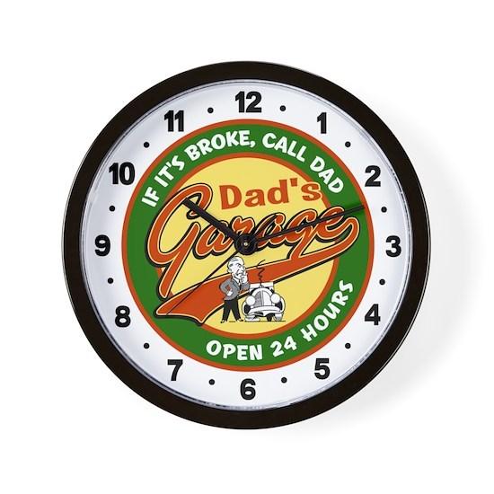 DadGarage-clock