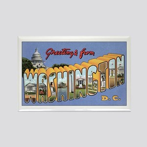 Washington D.C. Rectangle Magnet