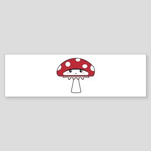 Kawaii Toadstool Sticker (Bumper)
