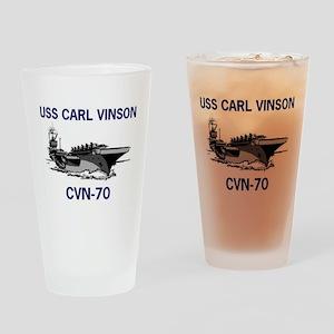 USS CARL VINSON Pint Glass
