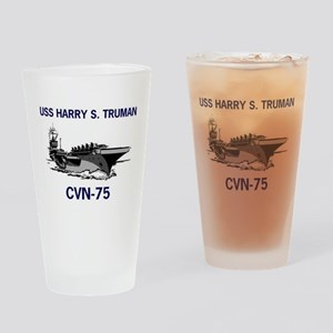 USS HARRY S. TRUMAN Pint Glass
