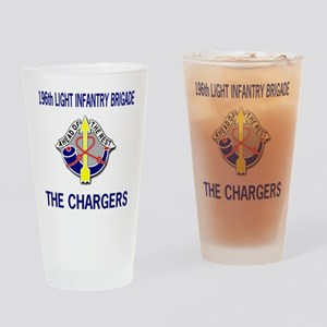 196th CHARGERS Pint Glass