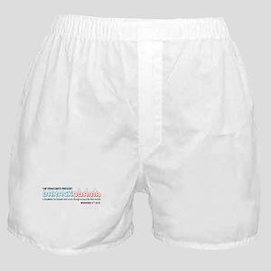 2012 Democrats Present Boxer Shorts