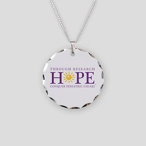 Conquer Pediatric Chiari Necklace Circle Charm