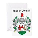 McNulty Coat of Arms Greeting Card