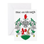 McNulty Coat of Arms Greeting Cards (Pk of 10)