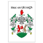 McNulty Coat of Arms Large Poster