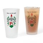 McNulty Coat of Arms Pint Glass