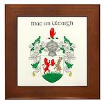 McNulty Coat of Arms Framed Tile