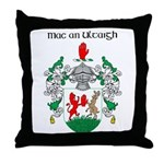 McNulty Coat of Arms Throw Pillow