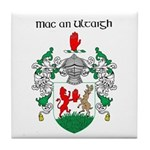 McNulty Coat of Arms Tile Coaster