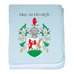 McNulty Coat of Arms baby blanket