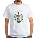 McNulty Coat of Arms White T-Shirt