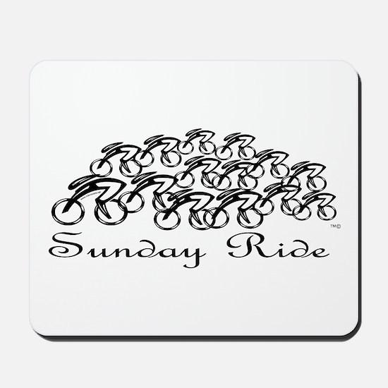 Sunday Ride Mousepad