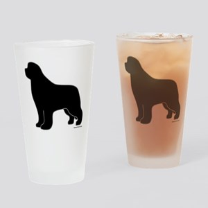 Newfoundland Silhouette Pint Glass