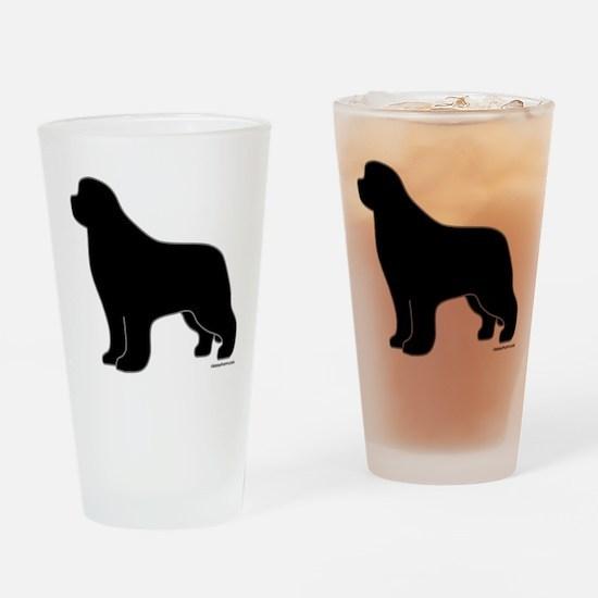 Newfoundland Silhouette Pint Glass