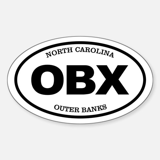 OBX (Outer Banks) Decal
