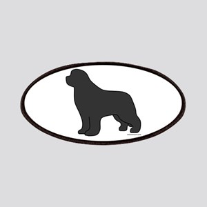 Gray Newfoundland Silhouette Patches