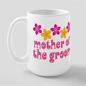 Mother of the Groom Hawaiian Large Mug