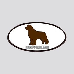 Brown Newfoundland Patches
