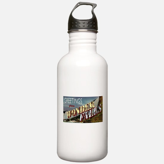 Greetings from Wonderfalls Water Bottle