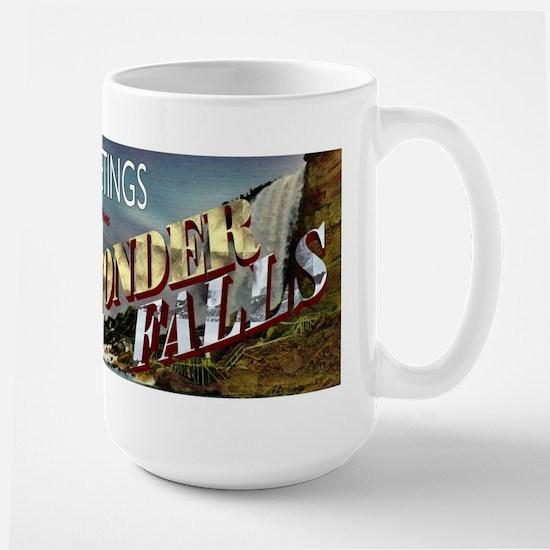 Greetings from Wonderfalls Large Mug