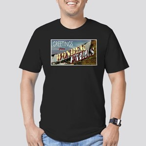 Greetings from Wonderfalls Men's Fitted T-Shirt (d