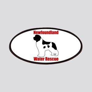 Landseer Water Rescue Patches