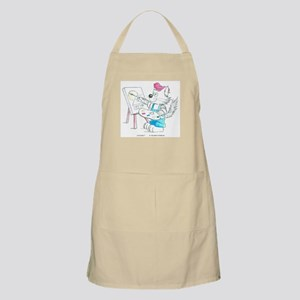 Artist Cat in Water Color Apron