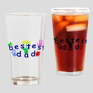 Bestest Dad Drinking Glass