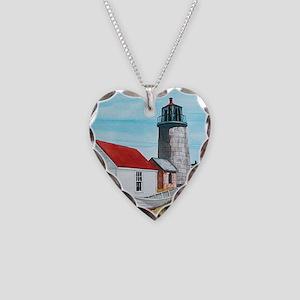 Necklace Heart Monhegan Lighthouse