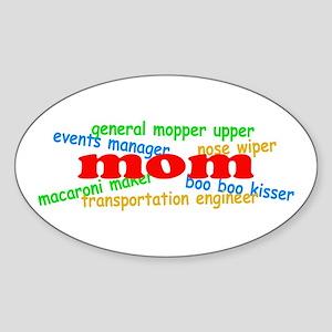 Supermom Sticker (Oval)
