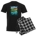Celtic Castle Tor Men's Dark Pajamas