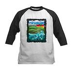 Celtic Castle Tor Kids Baseball Jersey