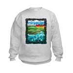 Celtic Castle Tor Kids Sweatshirt