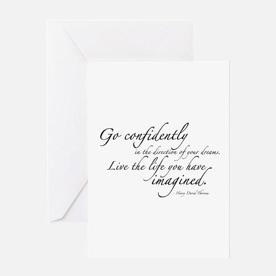 Henry David Thoreau Greeting Card