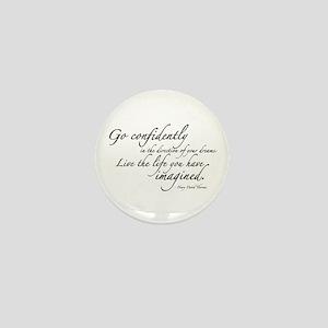 Henry David Thoreau Mini Button