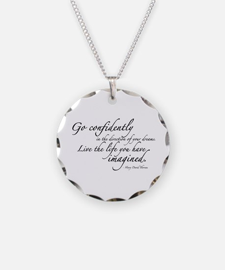 Henry David Thoreau Necklace