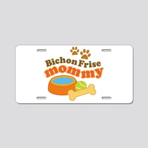 Bichon Frise Mommy Pet Gift Aluminum License Plate