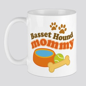 Basset Hound Mommy Pet Gift Mug