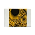 WillieBMX Radiate Rectangle Magnet (100 pack)