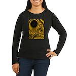 WillieBMX Radiate Women's Long Sleeve Dark T-Shirt