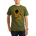 WillieBMX Radiate Organic Men's T-Shirt (dark)