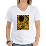 WillieBMX Radiate Women's V-Neck T-Shirt