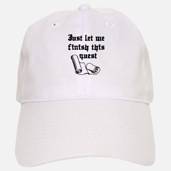 WoW Quest Baseball Baseball Cap