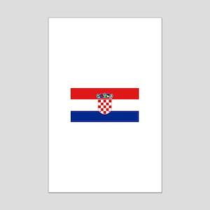 Croatia Mini Poster Print