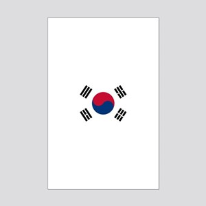 South Korea Mini Poster Print
