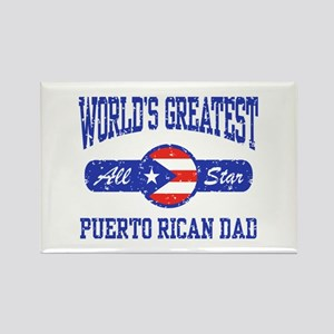 Puerto Rican Dad Rectangle Magnet