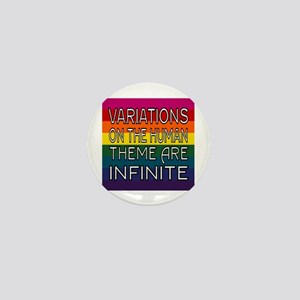 Variations On Humanness Mini Button